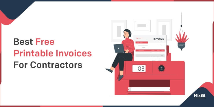 Printable Invoices For Contractors