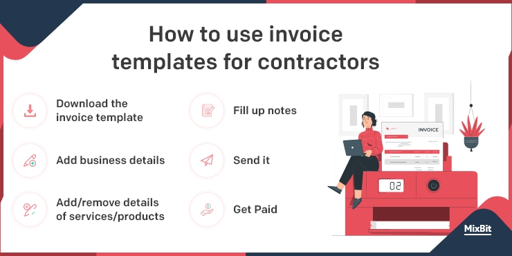 templates for contractors