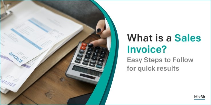 What is a Sales invoice?