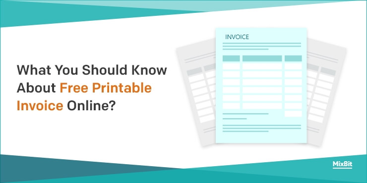 What You Should Know About Free Printable Invoice Online