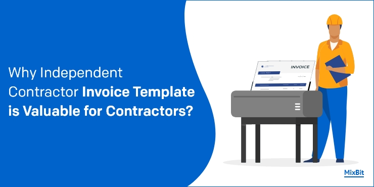 Independent Contractor Invoice Template is Valuable for Contractors