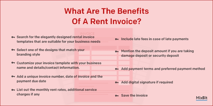 Benefits Of A Rent Invoice