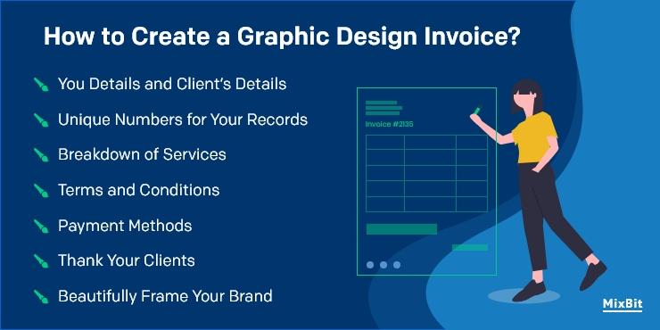 How to Freelance Graphic Design Invoice