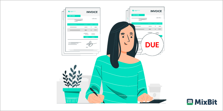 Is Outstanding Invoice equivalent to Overdue Invoice