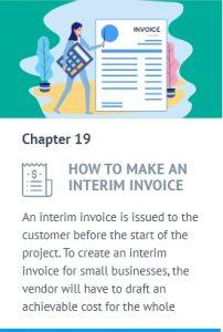 interim invoice