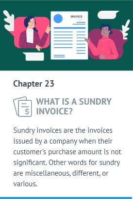 Meaning of Sundry invoice in Accounting