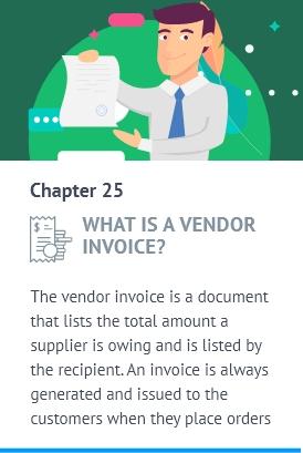 a Vendor Invoice