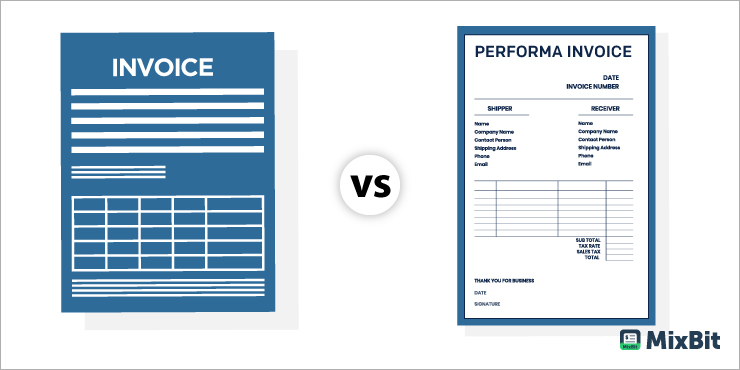 Difference Between an Invoice and Proforma Invoice