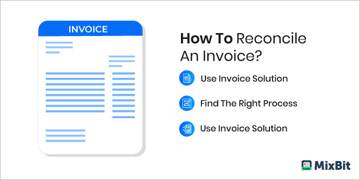 How To Reconcile An Invoice