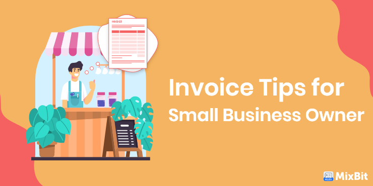 Invoice tips for small business owner